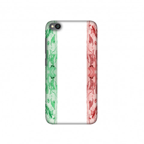 Italian marble- Italy flag Slim Hard Shell Case For Redmi Go
