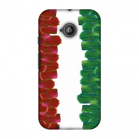 Italy Flag - Brush Strokes Slim Hard Shell Case For Motorola Moto E 2nd Gen