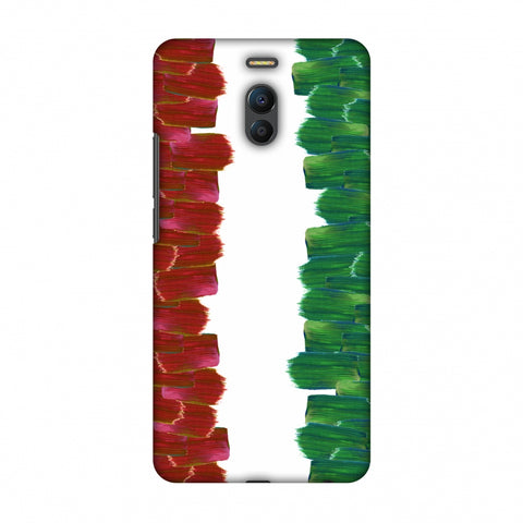Italy Flag - Brush Strokes Slim Hard Shell Case For Meizu Note 6