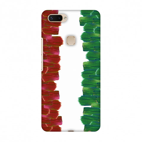 Italy Flag - Brush Strokes Slim Hard Shell Case For Vivo X20 Plus