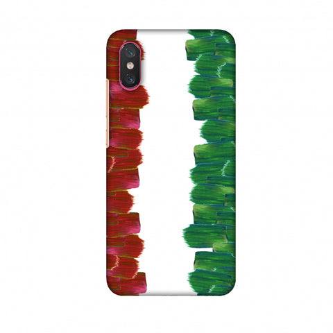 Italy Flag - Brush Strokes Slim Hard Shell Case For Xiaomi Mi 8 Pro
