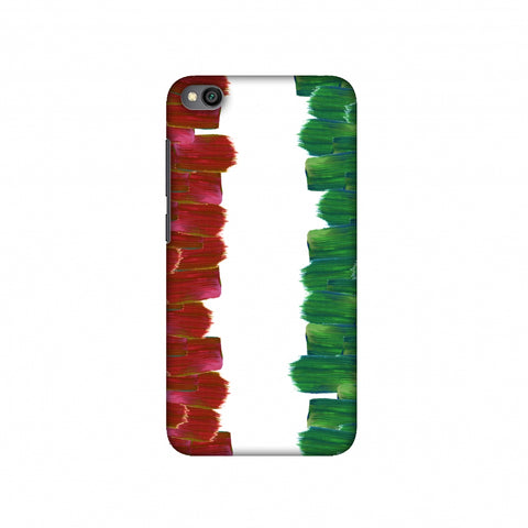 Italy flag- Brush strokes Slim Hard Shell Case For Redmi Go