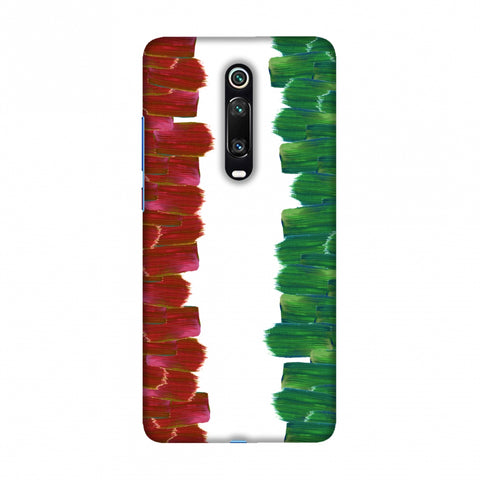 Italy flag- Brush strokes Slim Hard Shell Case For Redmi K20/K20 Pro