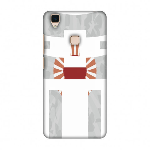 Itsukushima Shrine - Japan Flag Slim Hard Shell Case For Vivo V3