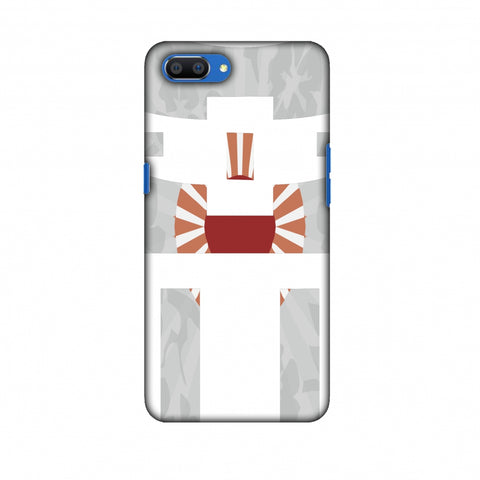Itsukushima Shrine - Japan Flag Slim Hard Shell Case For Oppo Realme C1