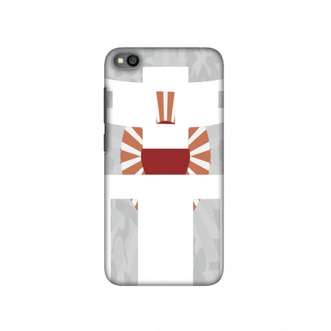 Itsukushima Shrine- Japan flag Slim Hard Shell Case For Redmi Go
