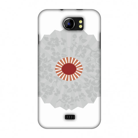 HAnd Fan - Japan Flag Slim Hard Shell Case For Micromax Canvas 2 A110