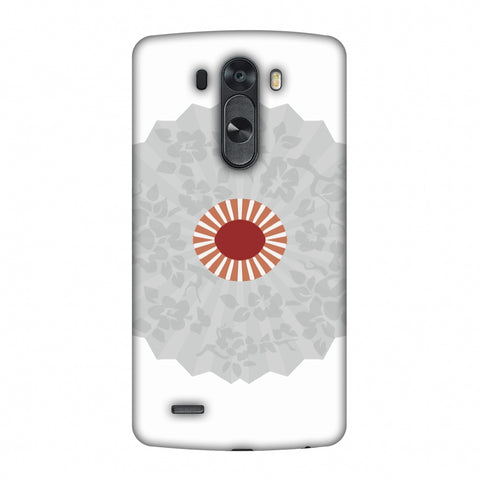 HAnd Fan - Japan Flag Slim Hard Shell Case For LG G4