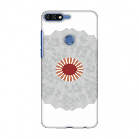HAnd Fan - Japan Flag Slim Hard Shell Case For Huawei Honor 7C