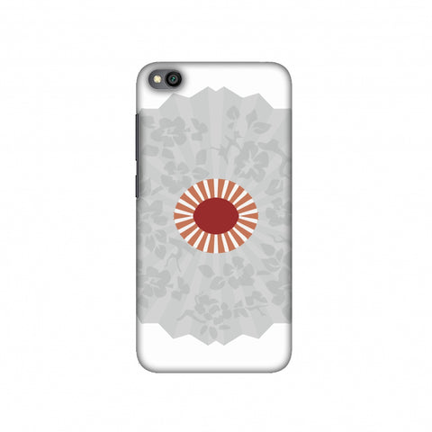 Hand fan- Japan flag Slim Hard Shell Case For Redmi Go