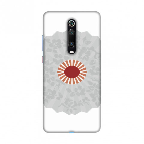 Hand fan- Japan flag Slim Hard Shell Case For Redmi K20/K20 Pro
