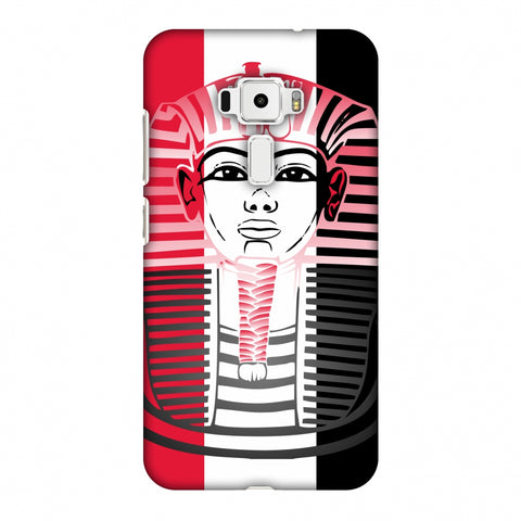 LAnd Of Pharaoh - Egypt Flag Slim Hard Shell Case For Asus Zenfone 3 ZE520KL