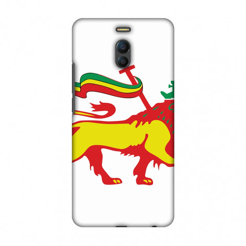 Lion Of Judah - Ethiopia Flag Slim Hard Shell Case For Meizu Note 6
