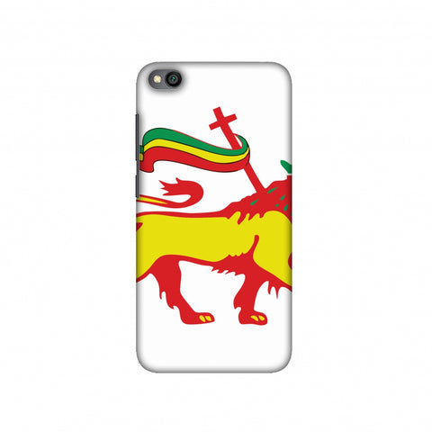 Lion of Judah- Ethiopia flag Slim Hard Shell Case For Redmi Go
