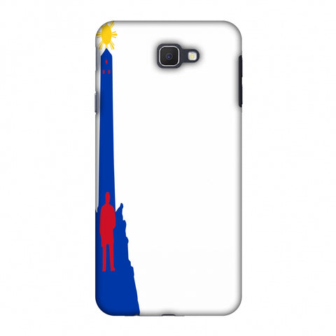 Luneta - Philippines Flag Slim Hard Shell Case For Samsung Galaxy J7 Prime