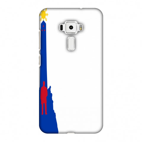 Luneta - Philippines Flag Slim Hard Shell Case For Asus Zenfone 3 ZE520KL
