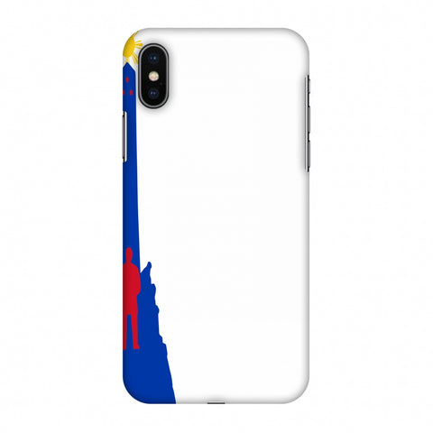 Luneta - Philippines Flag Slim Hard Shell Case For Apple iPhone X
