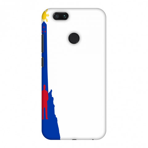 Luneta - Philippines Flag Slim Hard Shell Case For Xiaomi MI A1-5X