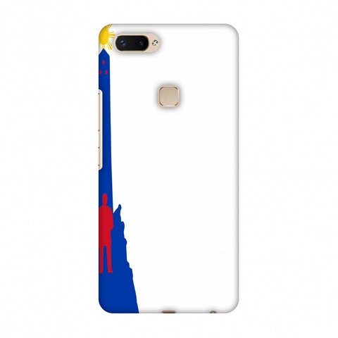 Luneta - Philippines Flag Slim Hard Shell Case For Vivo X20 Plus