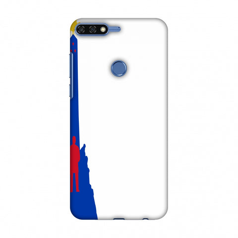 Luneta - Philippines Flag Slim Hard Shell Case For Huawei Honor 7C