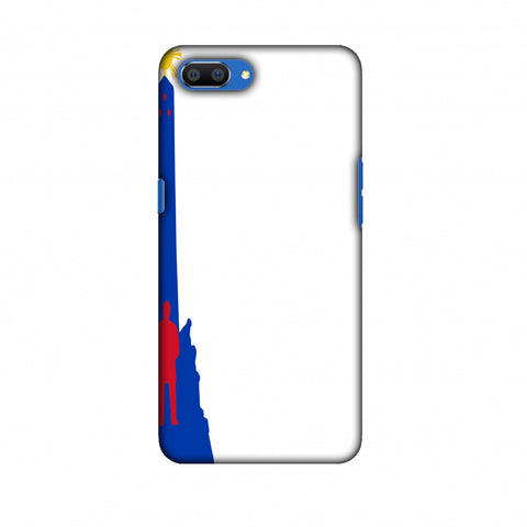 Luneta - Philippines Flag Slim Hard Shell Case For Oppo Realme C1