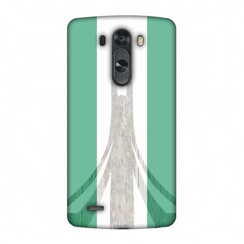Martyrs Memorial - Nigeria Flag Slim Hard Shell Case For LG G4