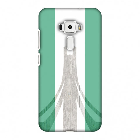 Martyrs Memorial - Nigeria Flag Slim Hard Shell Case For Asus Zenfone 3 ZE520KL