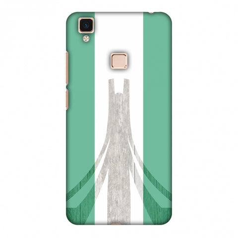 Martyrs Memorial - Nigeria Flag Slim Hard Shell Case For Vivo V3 Max