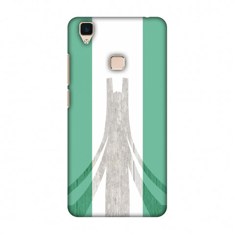 Martyrs Memorial - Nigeria Flag Slim Hard Shell Case For Vivo V3