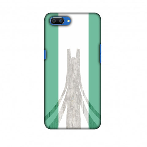 Martyrs Memorial - Nigeria Flag Slim Hard Shell Case For Oppo Realme C1