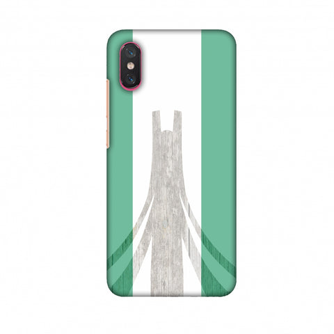 Martyrs Memorial - Nigeria Flag Slim Hard Shell Case For Xiaomi Mi 8 Pro