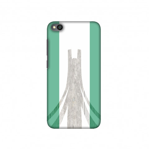 Martyrs Memorial- Nigeria flag Slim Hard Shell Case For Redmi Go