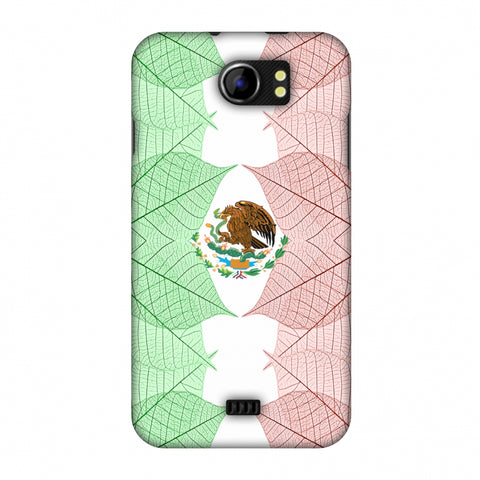 Mexico Flag - Patterns Slim Hard Shell Case For Micromax Canvas 2 A110
