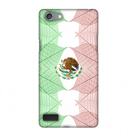 Mexico Flag - Patterns Slim Hard Shell Case For Oppo Neo 7