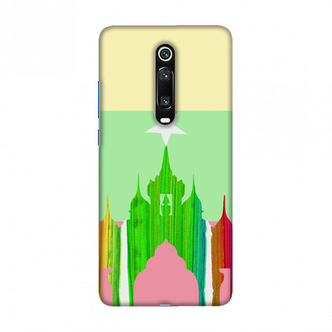 Ananda temple- Myanmar flag Slim Hard Shell Case For Redmi K20/K20 Pro