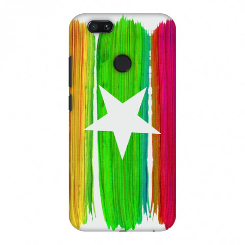 Myanmar Flag - Brush Strokes Slim Hard Shell Case For Xiaomi MI A1-5X