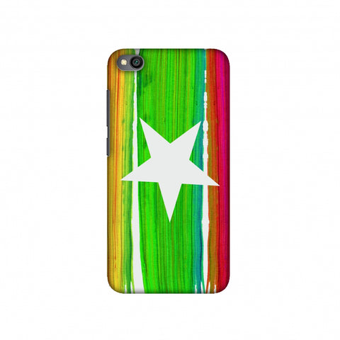 Myanmar flag- Brush strokes Slim Hard Shell Case For Redmi Go