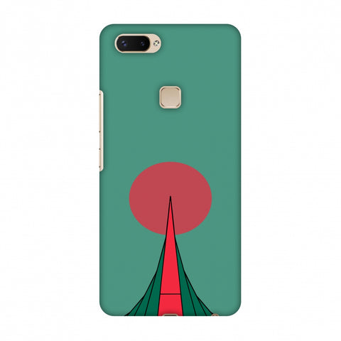 National Martyrs Memorial - Bangladesh Flag Slim Hard Shell Case For Vivo X20 Plus