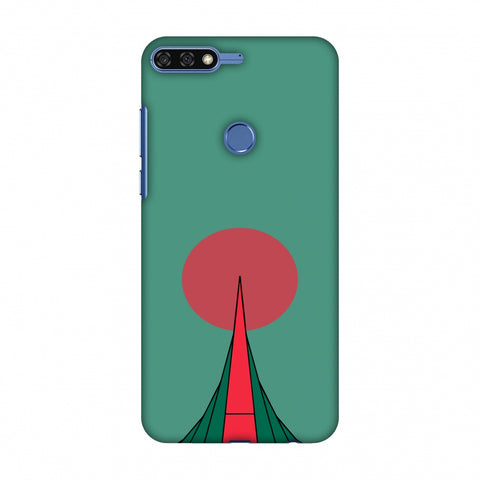 National Martyrs Memorial - Bangladesh Flag Slim Hard Shell Case For Huawei Honor 7C