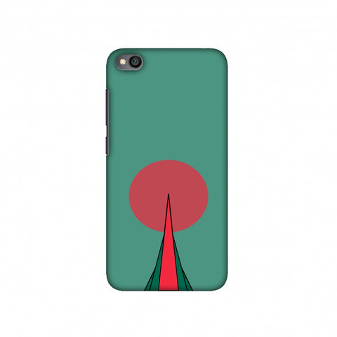 National Martyrs Memorial- Bangladesh flag Slim Hard Shell Case For Redmi Go