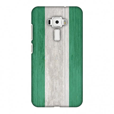 Nigeria Flag - Textures Slim Hard Shell Case For Asus Zenfone 3 ZE520KL