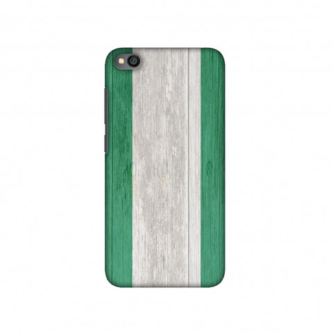 Nigeria flag- Textures Slim Hard Shell Case For Redmi Go