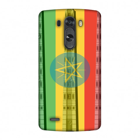 Obelix Of Axum - Ethiopia Flag Slim Hard Shell Case For LG G4