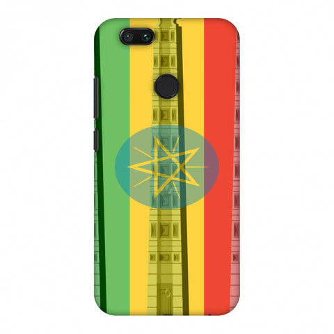 Obelix Of Axum - Ethiopia Flag Slim Hard Shell Case For Xiaomi MI A1-5X