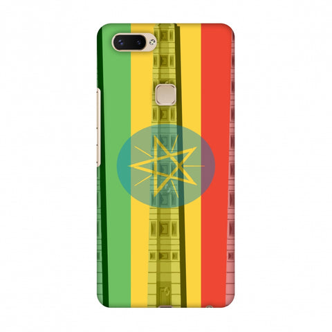 Obelix Of Axum - Ethiopia Flag Slim Hard Shell Case For Vivo X20 Plus