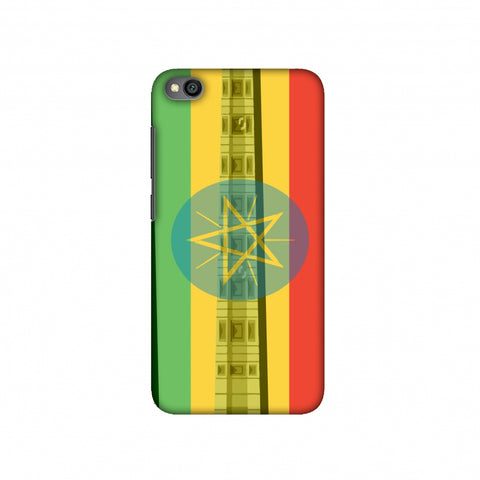 Obelix of Axum- Ethiopia flag Slim Hard Shell Case For Redmi Go