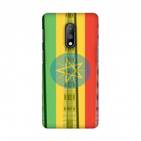Obelix of Axum- Ethiopia flag Slim Hard Shell Case For OnePlus 7