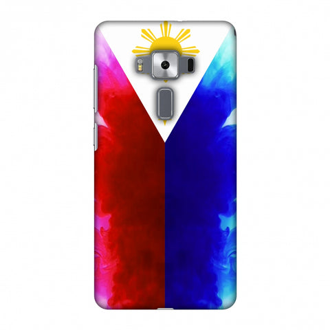 Philippines Flag - Smoke Shades Slim Hard Shell Case For Asus Zenfone 3 Deluxe ZS570KL