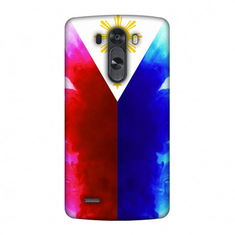 Philippines Flag - Smoke Shades Slim Hard Shell Case For LG G4