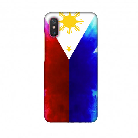 Philippines Flag - Smoke Shades Slim Hard Shell Case For Xiaomi Mi 8 Pro